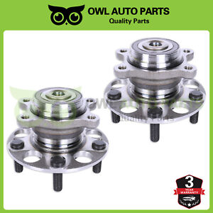 2 Rear Wheel Bearing Hub For 06 10 Honda Civic Acura Csx W Abs 1 8l 2 0l 512256