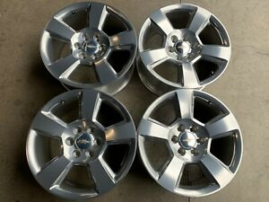 Four 2018 Chevy Silverado Ltz Factory 20 Wheels Oem 5652 Tahoe Suburban 1500