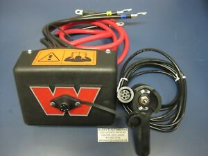 Warn 38842 Winch Electric Control Pack Mount Upgrade Kit Solenoid Pack 12 Volt