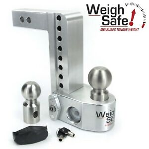 Weigh Safe Ws8 2 8 Drop Hitch Built In Scale For 2 Receiver 2