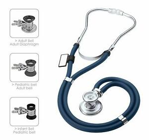 Mdf Sprague Rappaport Dual Head Stethoscope With Adult Pediatric And Infant