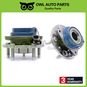 2 Front Wheel Bearing Hub For Chevy Malibu Pontiac Grand Am Olds Cutlass 513137