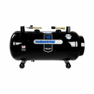 Industrial Portable Air Compressor Receiver Tank Vertical Horizontal 20 Gal New