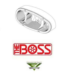 Boss Snow Plow Complete Head Light Driver Side 2008 And Up Msc11120 New Oem