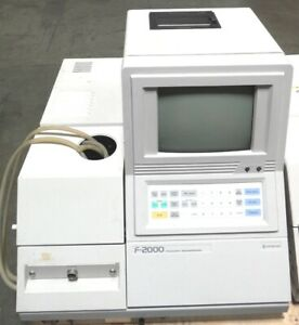 R160147 Hitachi F 2000 Fluorescence Spectrophotometer