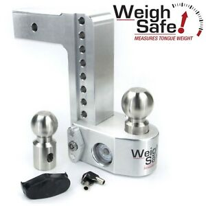 Weigh Safe Ws8 2 5 8 Drop Hitch Built in Scale For 2 5 Receiver 2