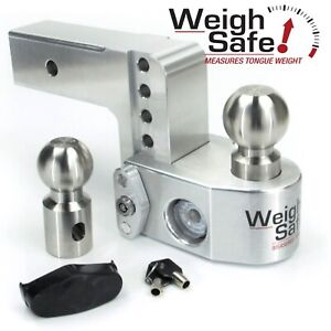 Weigh Safe Ws4 2 5 4 Drop Hitch Built in Scale For 2 5 Receiver 2