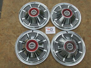 1966 77 Ford Pickup Truck Bronco 15 Wheel Covers Hubcaps Set Of 4