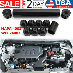 1 2 28 Napa 4003 Wix 24003 Car Fuel Filter 1x6 Aluminum Only For Car Used Black