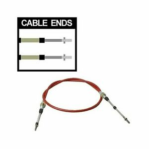 Tci Auto Shifter Cable 4 Ft Length 2 Stroke Threaded Threaded Ends Red Each