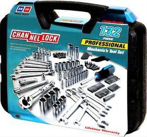 Channellock 132 Piece Mechanic S Tool Set 39067