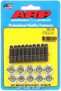 Arp Timing Cover Bolts Chromoly Black Oxide Chevy Big Small Block Kit 200 1401