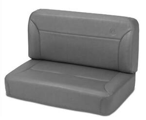 Bestop 39437 01 Seat Trailmax Ii Classic Fixed Rear Bench Vinyl Fits Jeep Each