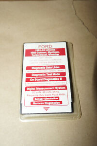 Ford Rotunda Ngs 007 00504 1984 1994 Diesel Red Scanner Card