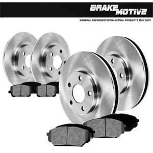 For 1999 2000 2005 Chevy Impala Monte Carlo Front rear Rotors