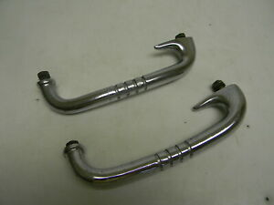 Vintage Grab Handles Trunk Or Rear Seat Pair Packard Lincoln Cadillac Stutz