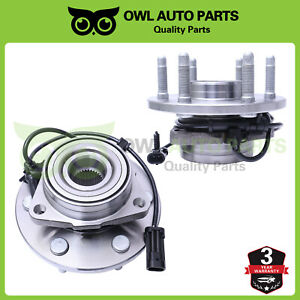 2 Front Wheel Bearing Hub Assembly 4wd For 2003 2013 Chevy Express Savana 515036