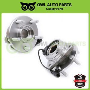 2 Front Wheel Hub Bearing For 05 06 11 Chevy Malibu Pontiac G6 Aura Abs 513214
