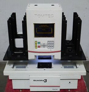 T160159 Tomtec Quadra 3 300 Series Automated Liquid Handler Workstation