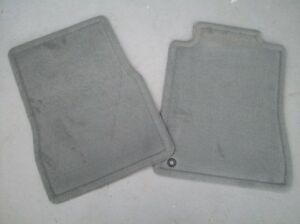 2005 2006 2007 2008 2009 Ford Mustang Gt Or V6 Carpeted Floor Mats 2 Pc Gray