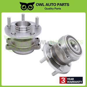 2 Rear Wheel Hub Bearing Assembly Fits Subaru Outback Legacy 5 Bolt Abs 512293