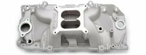 Edelbrock Performer Rpm Intake Manifold 7161 Bbc Fits Oval Port Heads