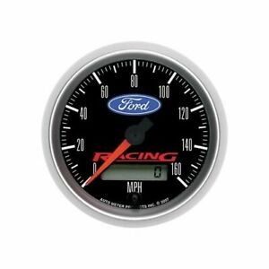 Autometer Ford Racing Speedometer 0 160 Mph 3 3 8 Dia Electrical 880082