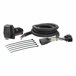 Curt Custom Vehicle To Trailer Wiring Harness 56307 For 2015 2016 Ford F 150
