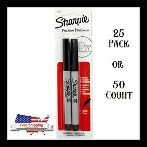 Sharpie Ultra Fine Point Permanent Marker Black 25 Pack Or 50 Count Markers