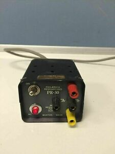 Philbrick Research Pr 30 Regulated Power Supply 15 Vdc 30 Ma