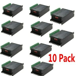 10x Single Axis Tb6600 4a Cnc 2 4 Phase Hybrid Driver Controller Stepper Motor
