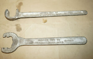 Lot Of 2 Vintage Miller Tools Chrysler Wrenches