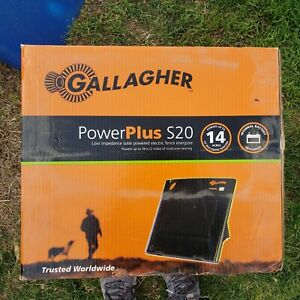 Gallagher Solar Fence Charger S 20 New Still In Box Internal Battery Included
