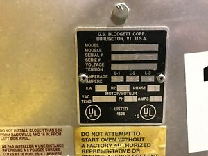 Commercial Electric Pizza Oven Blodgett