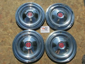 1955 1956 1957 Packard Clipper 15 Wheel Covers Hubcaps Set Of 4