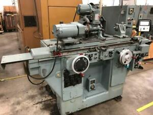 Brown Sharpe 1020u Hydraulic Od Id Grinder Full Auto Cycle