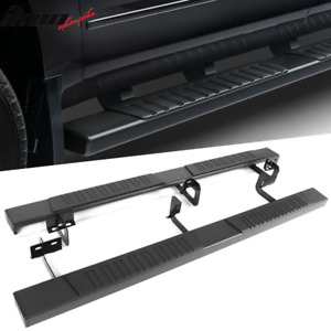 Fits 09 18 Dodge Ram 1500 10 18 2500 Quad Cab 78 Side Step Bar Running Boards