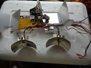 Used Rotator Assembly Reflectors Set For Federal Signal Lightbar