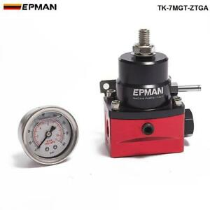 Epman Adjustable Fuel Pressure Regulator With Gauge No With For Ford F250 6