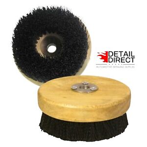 Carpet And Upholstery Shampoo Brush For Rotary Bufferspolishers 5 Wood Block
