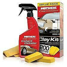 New Mothers 07240 California Gold Clay Bar System Free Shipping