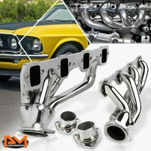 For 64 77 Ford Mustang 302cu 5 0 V8 Stainless Steel Shorty Exhaust Header Gasket