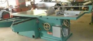 Oliver 2008 Sliding Table Saw woodworking Machinery