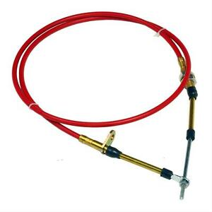 B M 80604 Shifter Cable 4 Ft Length Eyelet Threaded Ends Red Each