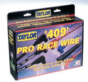 Taylor 409 Pro Race Spiro Wound 10 4mm Spark Plug Wire 79006