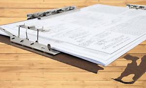 11x17 17 X 11 Inches Hardboard clipboard With 8 inch Hinge And Mousetrap Clip