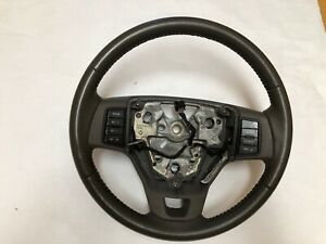 Ford Focus Graystone Leather Steering Wheel 2008 2009 2010 2011 Cruise Sync