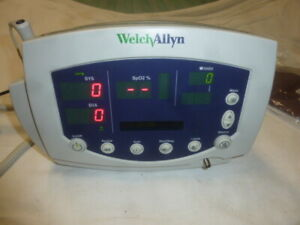 Welch Allyn 300 Series Monitor Patient Vital Signs Monitor Sp02 And Temp
