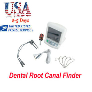 Digital Dental Teeth Root Canal Finder Dentist Apex Locator Endodontic Endo Set