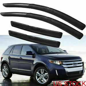 Set Window Visor Vent Interior Protect Cover For 2007 2012ford Edge Lincoln Mkx